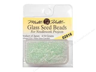 Cross Stitch Project $0 - $5: 11/0 Glass Seed Beads by Mill Hill  #2016 Crystal Mint