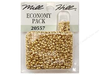 Millhill Economy Pack Beads Gold