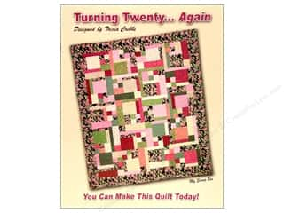 G.E. Designs Fat Quarters Books: Turning Twenty... Again Book by Tricia Cribbs