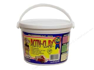 Clearance Blumenthal Favorite Findings: Activa Activ-Clay 3.3 lb. White