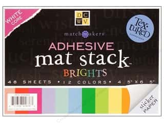 DieCuts Adhesive Mat Stack 6.5&quot;x 4.5&quot; Brights
