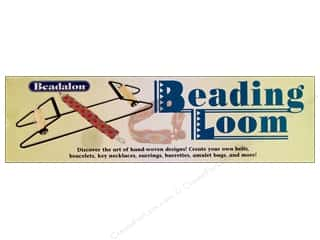 seed beads: Beadalon Tools Beading Loom 12 in.