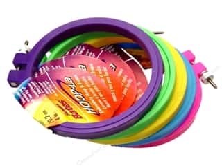 hoops > quilting hoops: Susan Bates Hoop-La Embroidery Hoops 4 in.