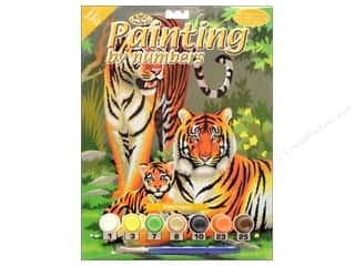 Royal Paint By Number Junior Small Tigers