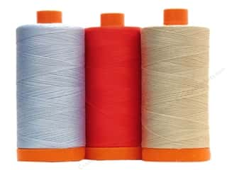 Aurifil Mako Cotton Quilting Thread 50 wt. 1420 yd, SALE $10.49.