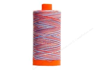 Aurifil Mako Cotton Quilting Thread 50 wt. Variegated Red/White/Blue 1420 yd.