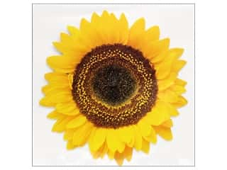 Note Cards & Envelopes: Paper House Diecut Card Common Sunflower