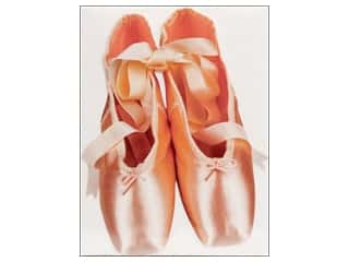 Paper House Diecut Card Ballet Slippers