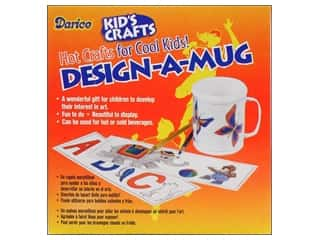 Kid Crafts Brown: Darice Design a Mug 3 Designs