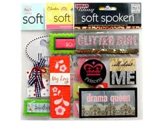 Mothers Day Gift Ideas Sewing: Me & My Big Ideas Soft Spoken Stickers, SALE $1.59-$4.19.
