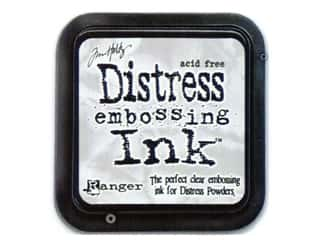 Tim Holtz Distress Clear Embossing Ink Pad by Ranger