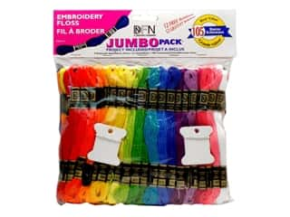 Weekly Specials Beading: Janlynn Embroidery Floss Pack Jumbo 105 pc