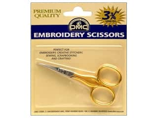 DMC Scissors Vintage Embroidery Gold Handle