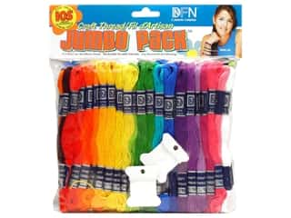 Sale: Janlynn Craft Thread Jumbo Pack 105 pc