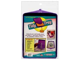 Plastics New: New Phase Tidy Crafts Tidy Tray Large Purple