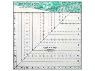 "Quilting Templates / Sewing Templates: Quilt In A Day Rulers 12.5"" Square Up"