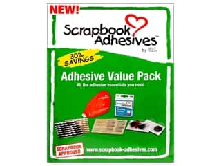 Glues Adhesives & Tapes: 3L Scrapbook Adhesives Value Pack
