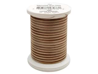 YLI YLI Mercerized Cotton Quilt Thread 500 yd: YLI Machine Quilting Thread 500 yd. #V83 Caffe Romano