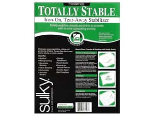 Sulky Interfacing & Fusibles: Sulky Totally Stable Stabilizer 20 in. x 3 yd. White