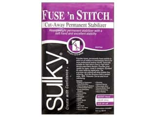 "Interfacing heavy: Sulky Fuse 'n Stitch Stabilizer Package 20""x 36"""