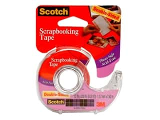 "Scrapbooking Tapes: Scotch Tape Scrapbooking Double Sided 1/2""x 300"""