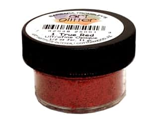 Ultrafine Glitter Opaque True Red 1/2 oz.