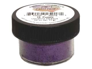 Clearance Art Institute Ultrafine Glitter: Art Institute Glitter Ultrafine 1/2 oz. Opaque Purple