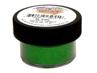 Art Institute Glitter .5 oz Ultrafine Opq Kelly