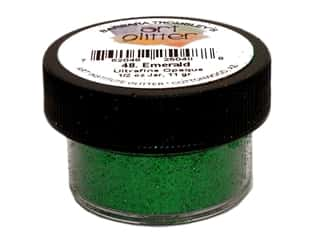 Art Institute Glitter .5 oz Ultrafine Opq Emerald
