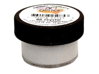Art Institute Glitter Tools: Art Institute Glitter Ultrafine 1/2 oz. Transparent Crystal