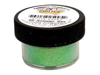 Glitter: Art Institute Glitter Ultrafine 1/2 oz. Transparent Summer Sea