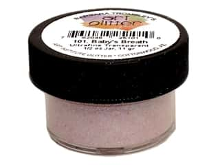 Art Institute Glitter .5 oz Ultrafn Tran Baby Brth