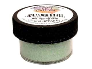 Clearance Art Institute Glitter .5 oz Ultrafine: Art Institute Glitter Ultrafine 1/2 oz. Transparent Spring Mint