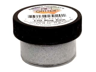 Clearance Art Institute Glitter .5 oz Ultrafine: Art Institute Glitter Ultrafine 1/2 oz. Transparent Blue Rain