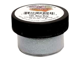 Art Institute Glitter Ultrafine 1/2 oz. Transparent Blue Boy