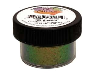 Glitter Brown: Art Institute Glitter Ultrafine 1/2 oz. Transparent Autumn