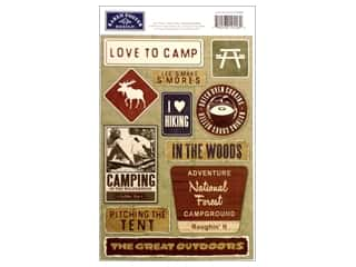 Karen Foster Sticker Cardstock Love To Camp