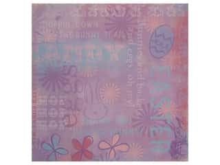 Karen Foster Paper 12x12 Collage Easter (25 sheets)