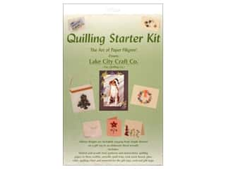 Projects & Kits Clearance Crafts: Lake City Crafts Quilling Kit Starter
