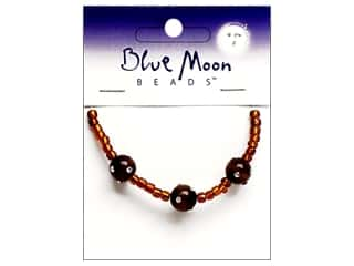 Blue Moon Beads Sparkling Cat's Eye 10mmmm Round Brown 3pc