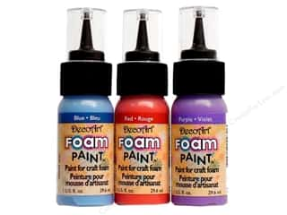 DecoArt Foam Paint 1oz Bottle