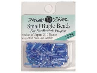Millhill Bugle Bead Small Ice Blue