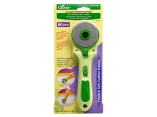 Weekly Specials The Grace Company TrueCut Rotary Cutter: Clover Rotary Cutter 60 mm Soft Cushion