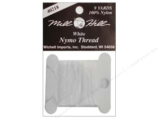 Millhill Nymo Thread 9 yd White
