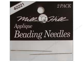Millhill Beading Needle 2 pc-Small applique (3 packages)