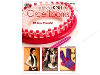Yarn, Knitting, Crochet & Plastic Canvas American School of Needlework: American School of Needlework Learn to Knit on Circle Looms Book by Denise Layman
