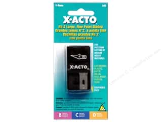 X-Acto Blades # 2 Large Fine Point 15 pc