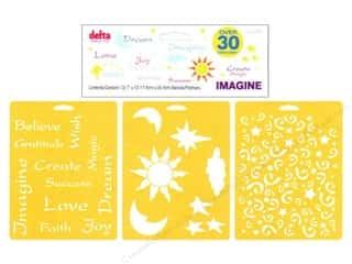Mothers Day Gift Ideas Fabric Fanatics: Delta Stencil Mania VP Imagine 3pc