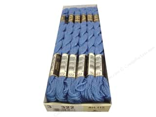 Pearl Cotton $16 - $17: DMC Pearl Cotton Skein Size 3 #322 Dark Baby Blue (12 skeins)