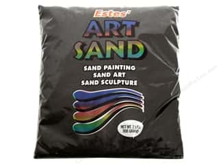 Bags Hot: Estes Art Sand 2 lb Bag Black